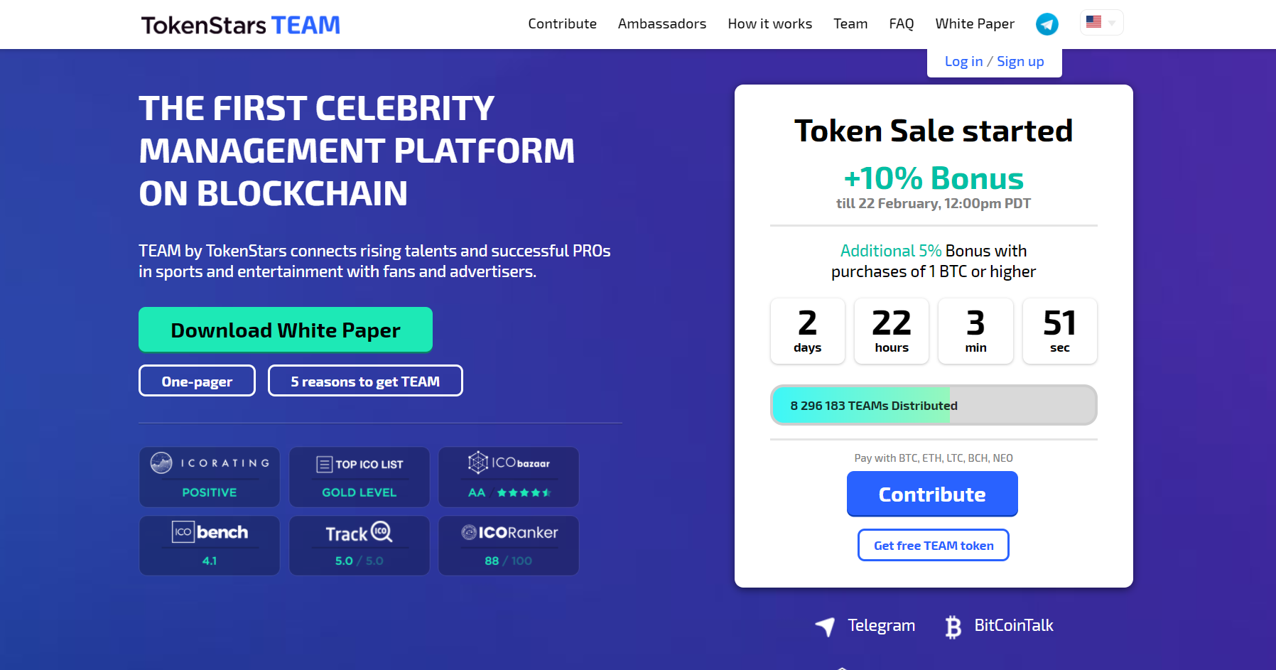 TEAM Token Sale is Open: Everything You Need To Know