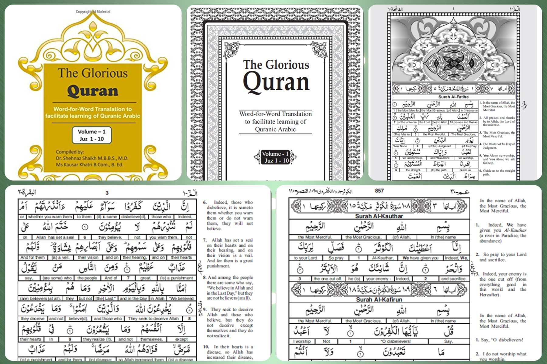 Download] The Glorious Quran With Word For Word English