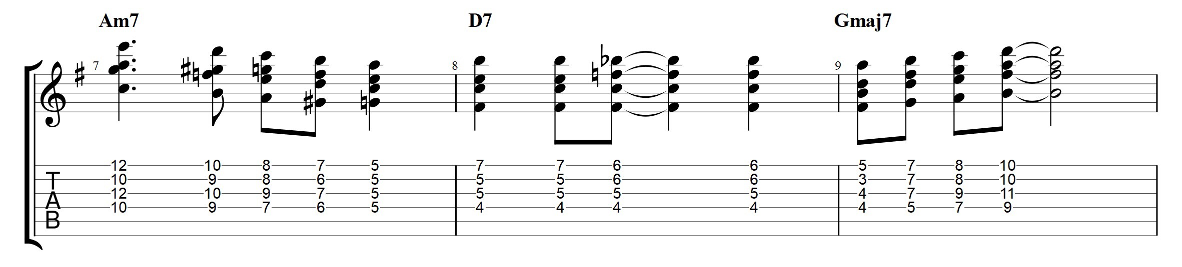 Passing Chords — The 3 types You Need for comping and chord
