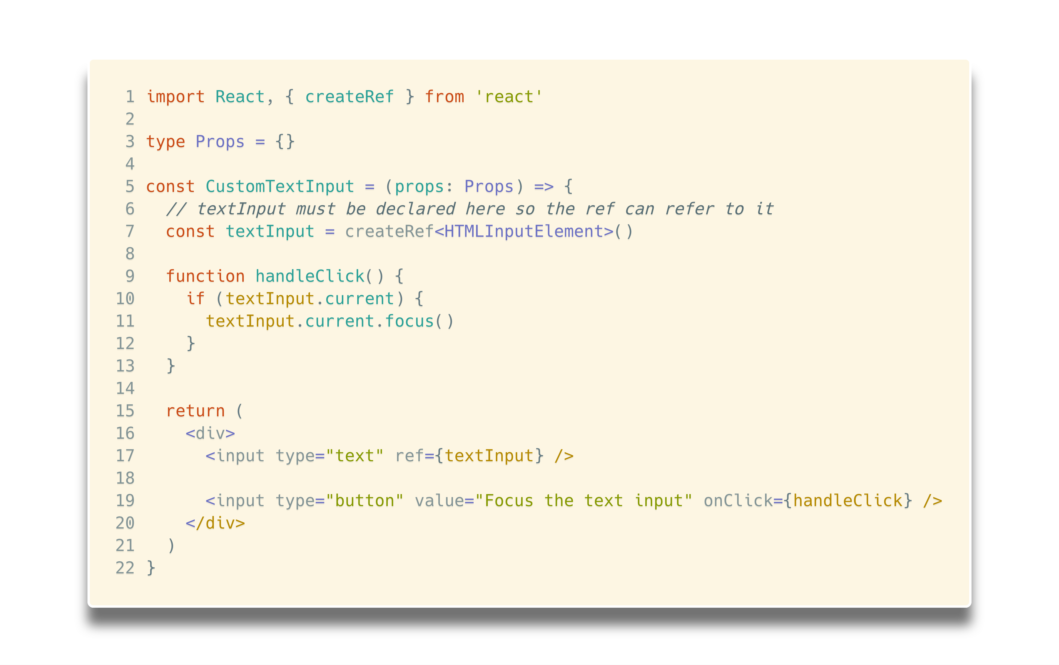 React Refs with TypeScript - Martin Hochel - Medium