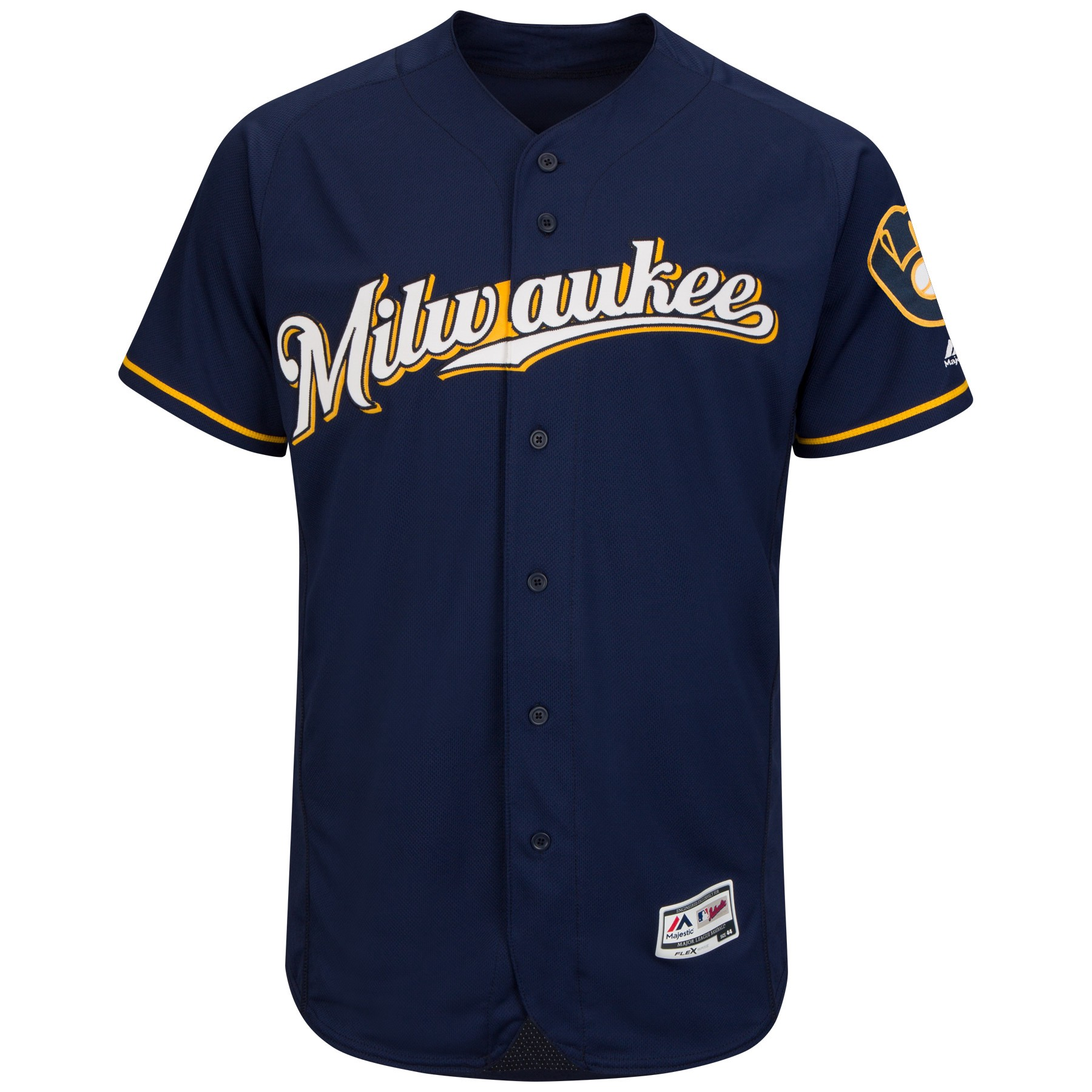 best website 5bfd7 3b05e Brewers Unveil New Alternate Logo; Navy Blue Jersey Will Be ...