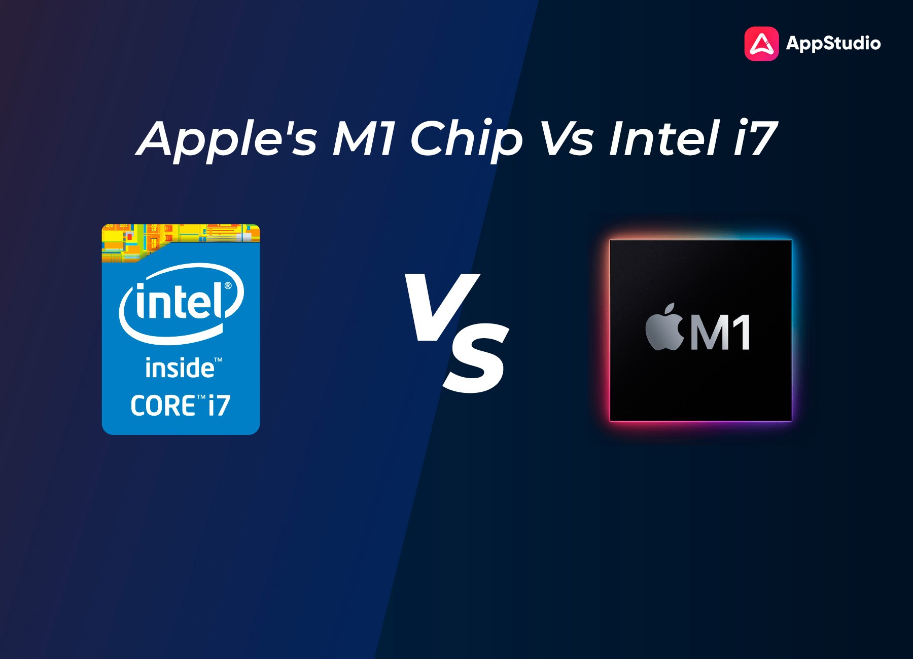 Apple's M1 Chip Vs Intel's I7 Chip