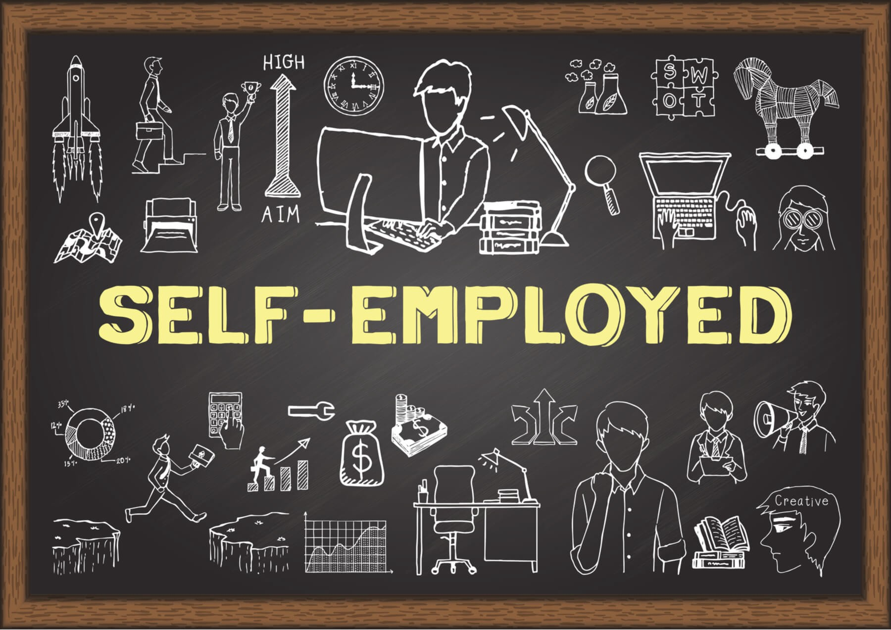 Best 11 Self Employed Jobs In 2020 Work For Yourself By Mike Kubesheski Medium