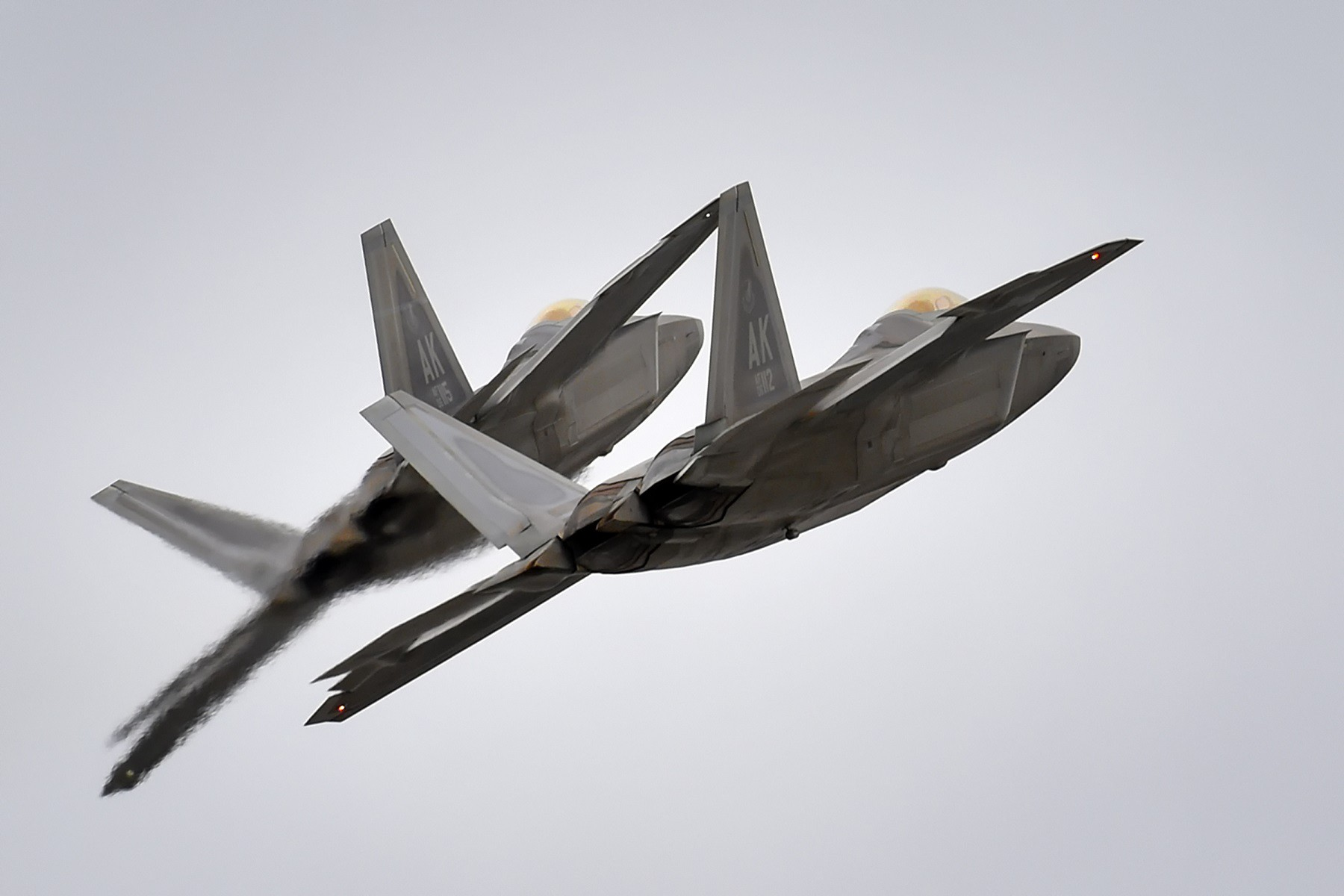 The F-22 Stealth Fighter Has More Than One Weakness Compared to