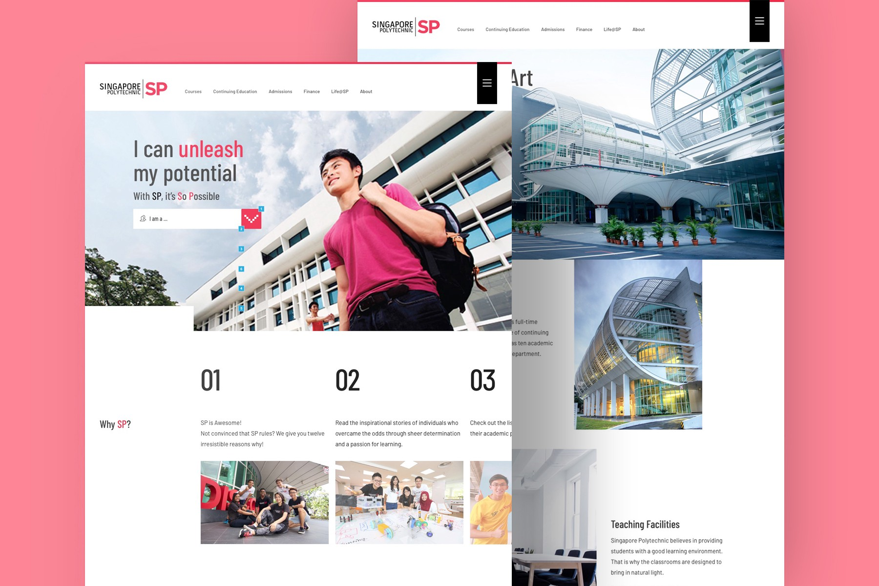 Ux Case Study Singapore Polytechnic Website Information Architecture By Leow Hou Teng Medium