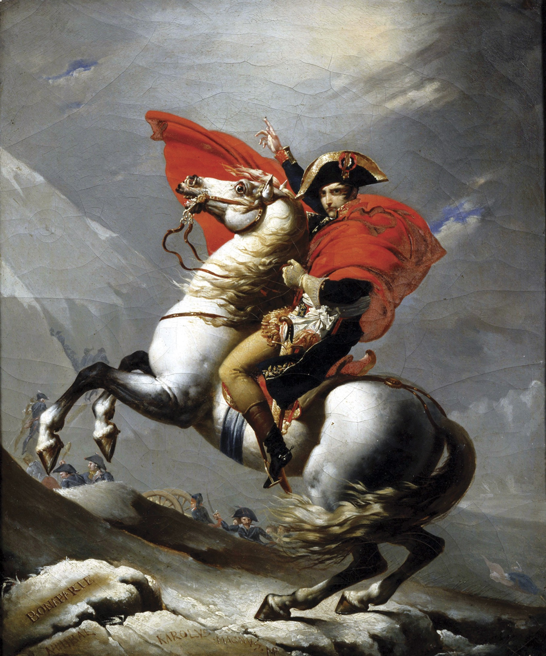 Napoleaon Crossing the Alps