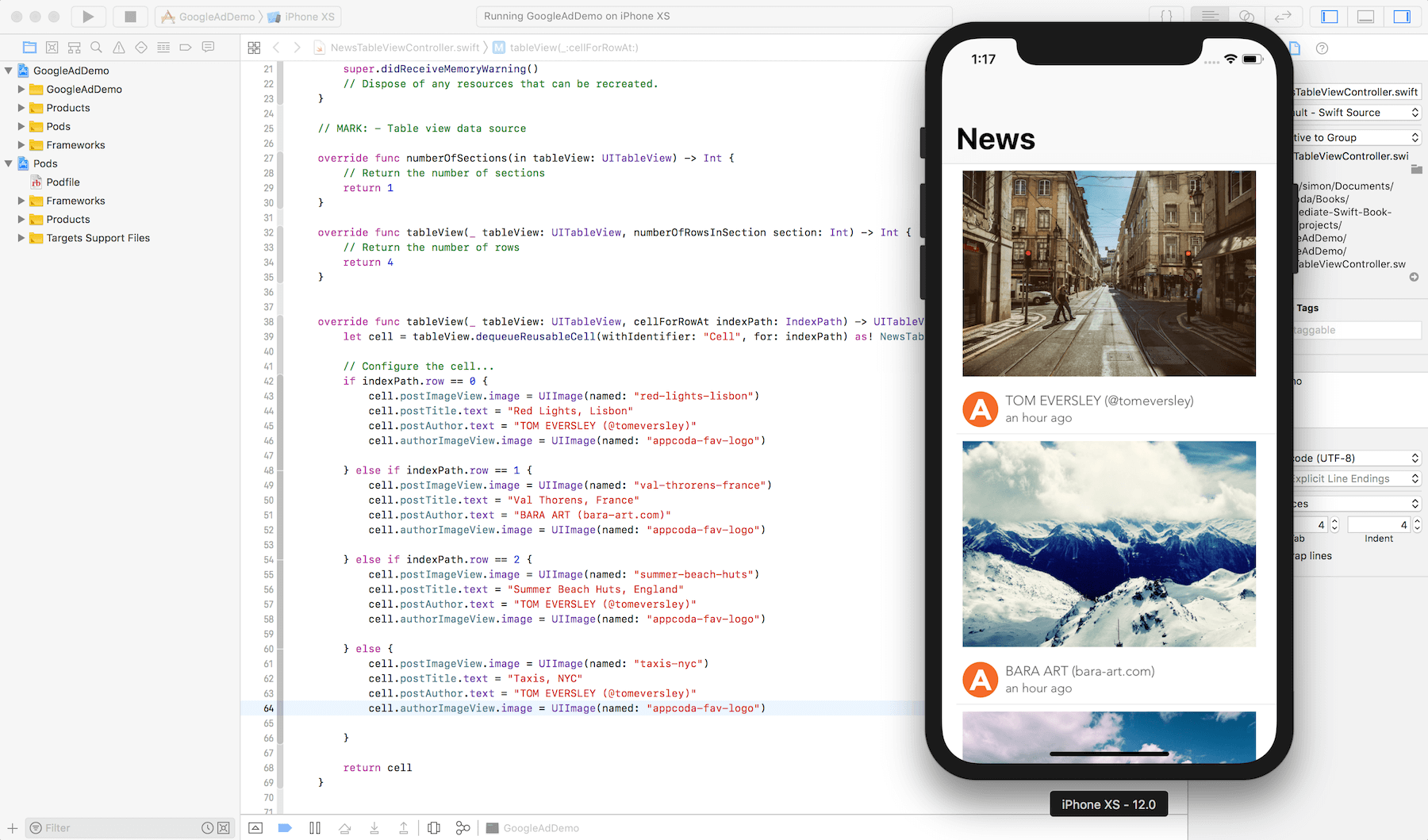 How to Integrate AdMob Banner Ads with Your iOS Apps using