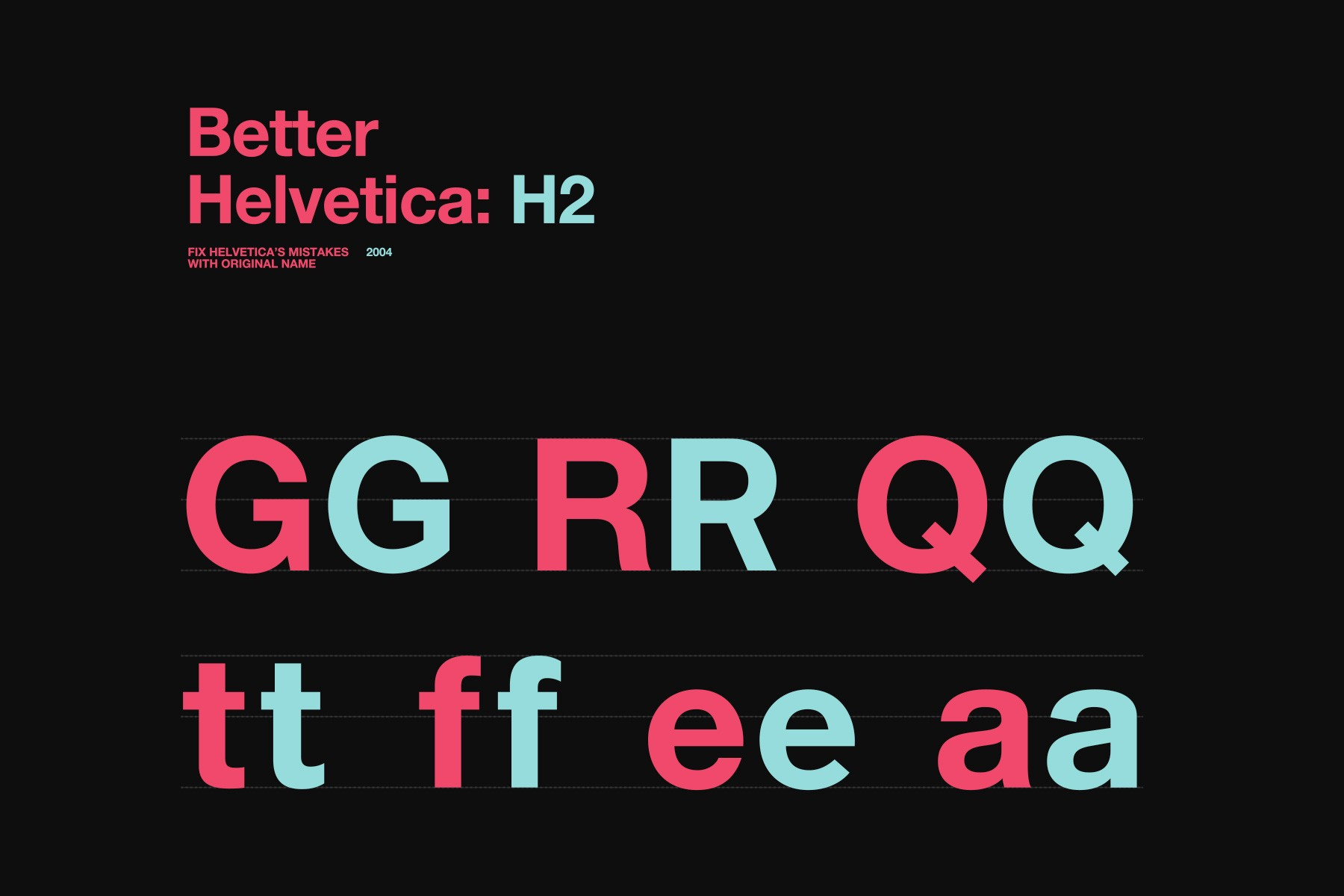 "Helvetica Now"" is better than ""Helvetica Never"" - Antrepo"