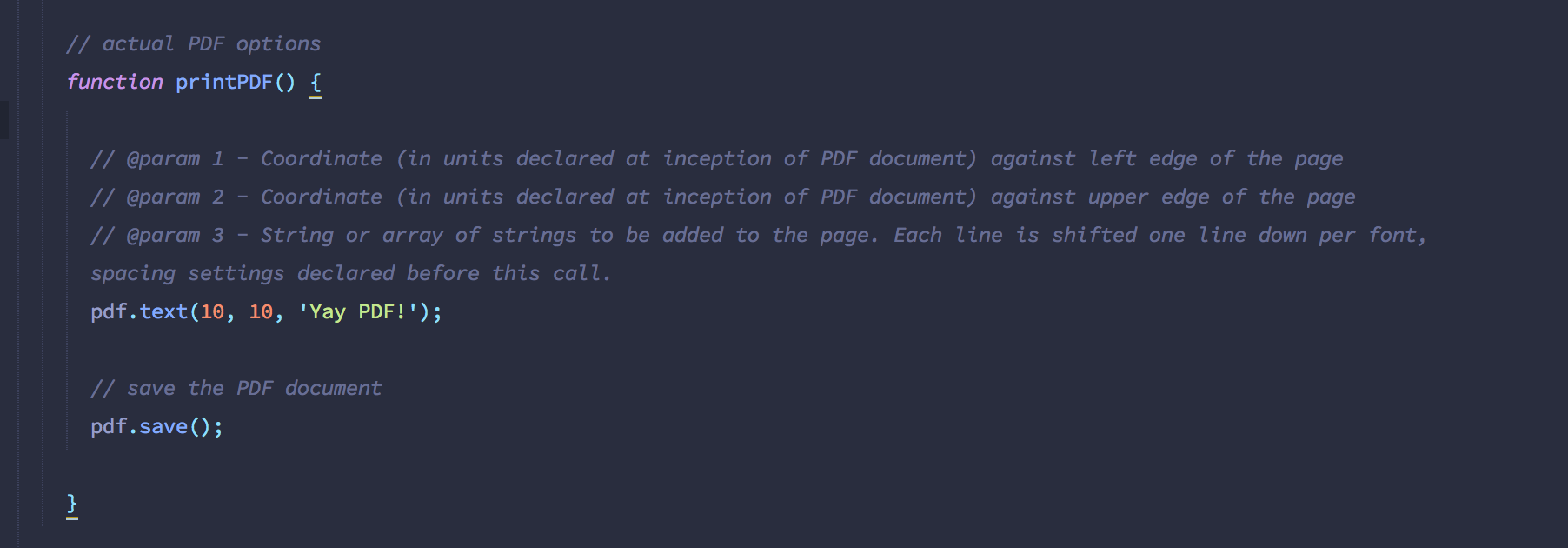 Generate PDF Invoices with Javascript - codeburst