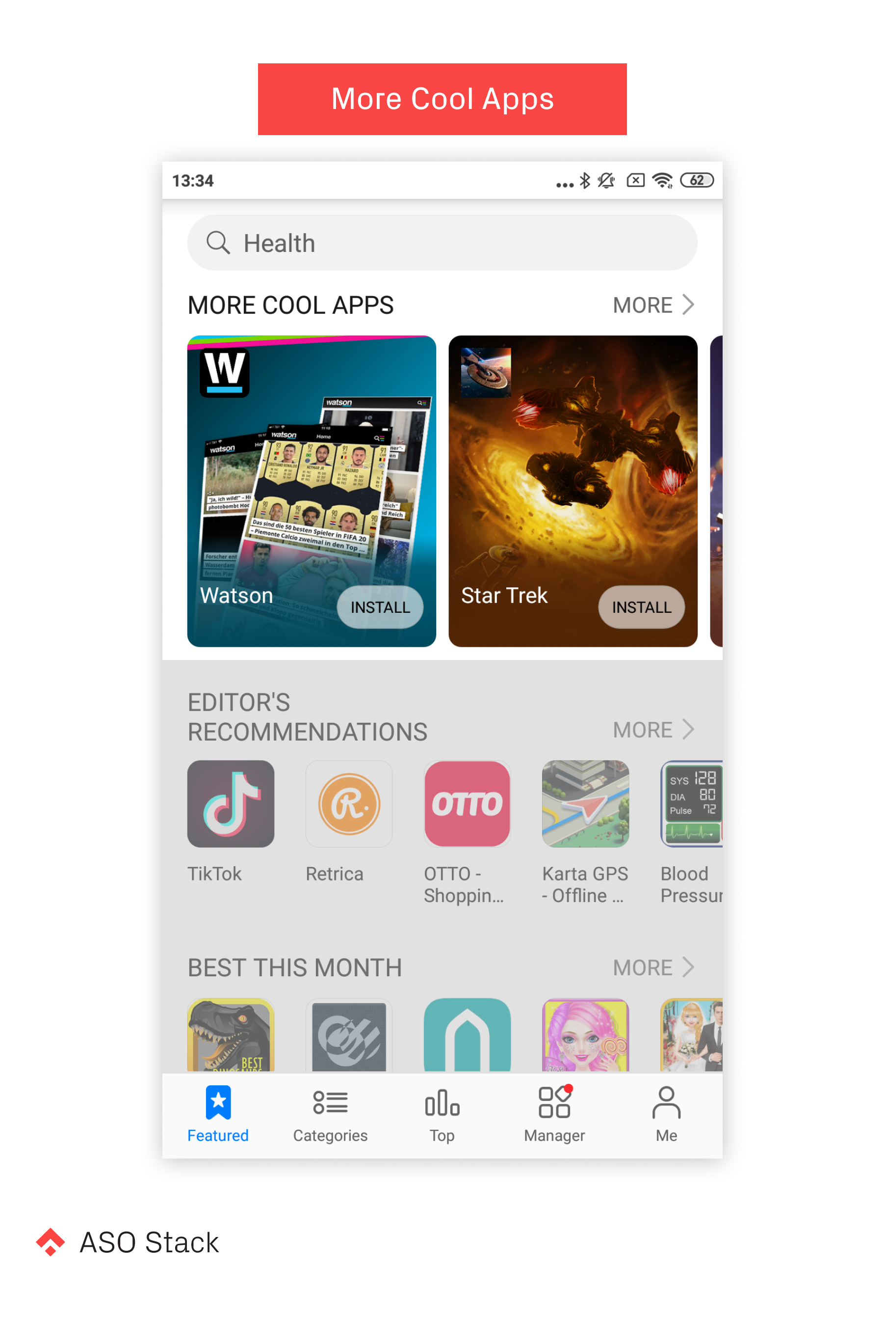 Huawei AppGallery ASO More Cool Apps