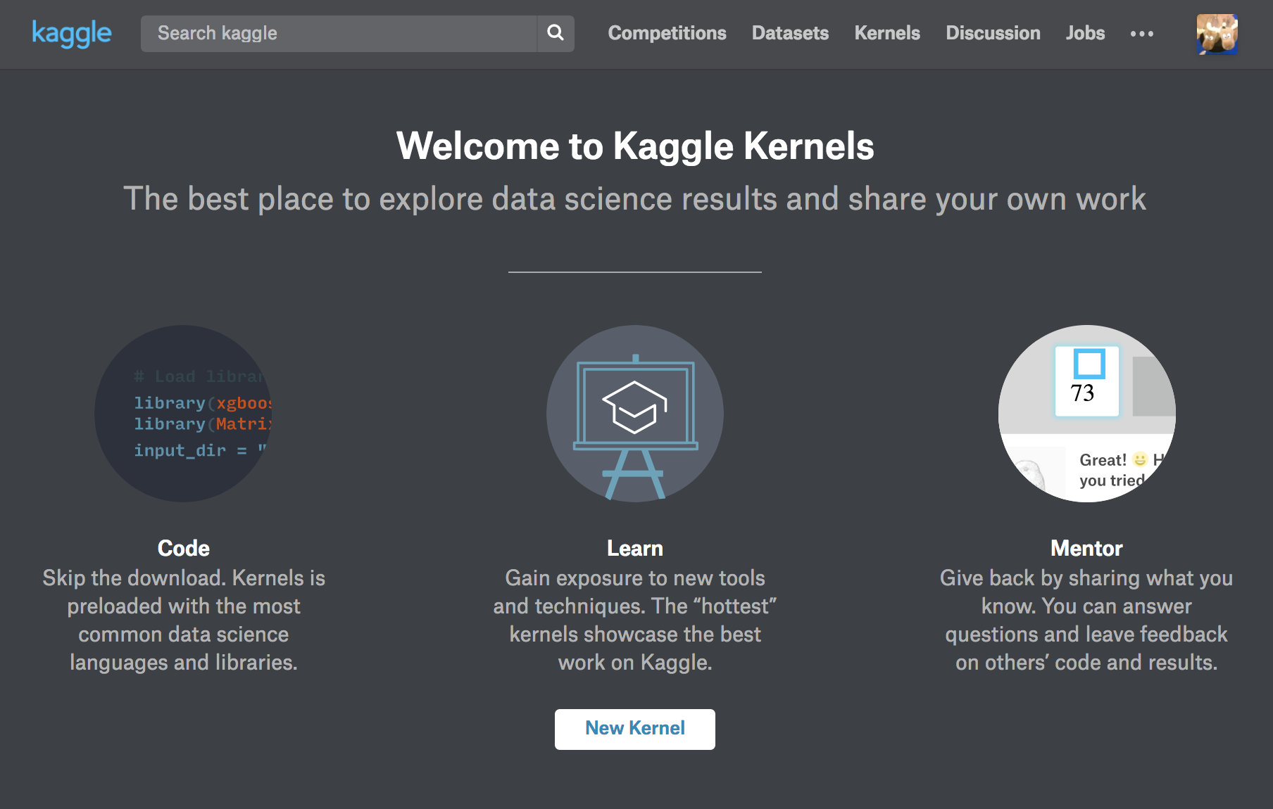 Introduction to Kaggle Kernels - Towards Data Science