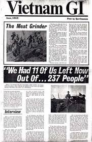 Cover of June 1969 Issue of Vietnam GI Underground Antiwar Newspaper Source: Google Images