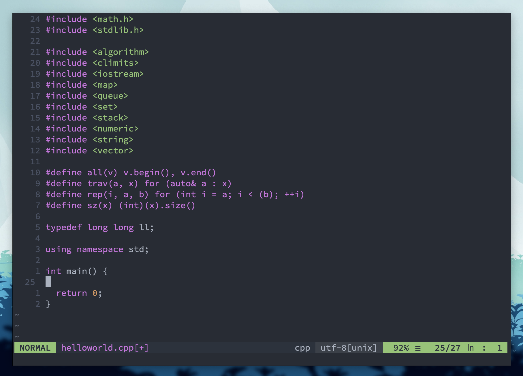 How I Use Vim For Competitive Programming By Akash Rao Medium