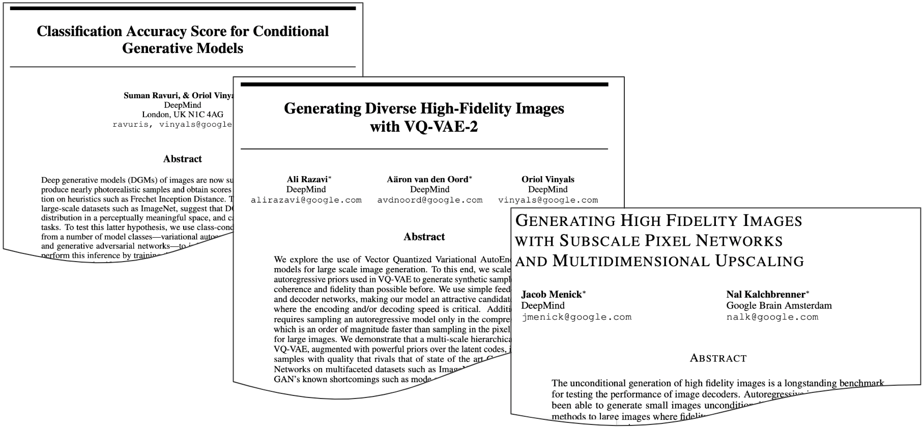 Generating High-Resolution Images Using Deep Autoregressive