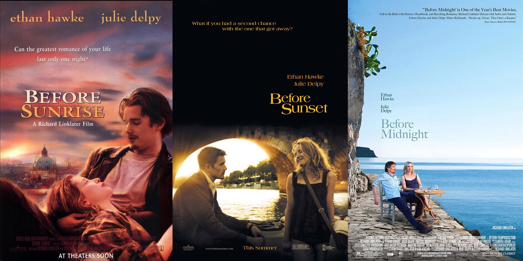 Criterion Review: Richard Linklater's BEFORE Trilogy Grapples With ...