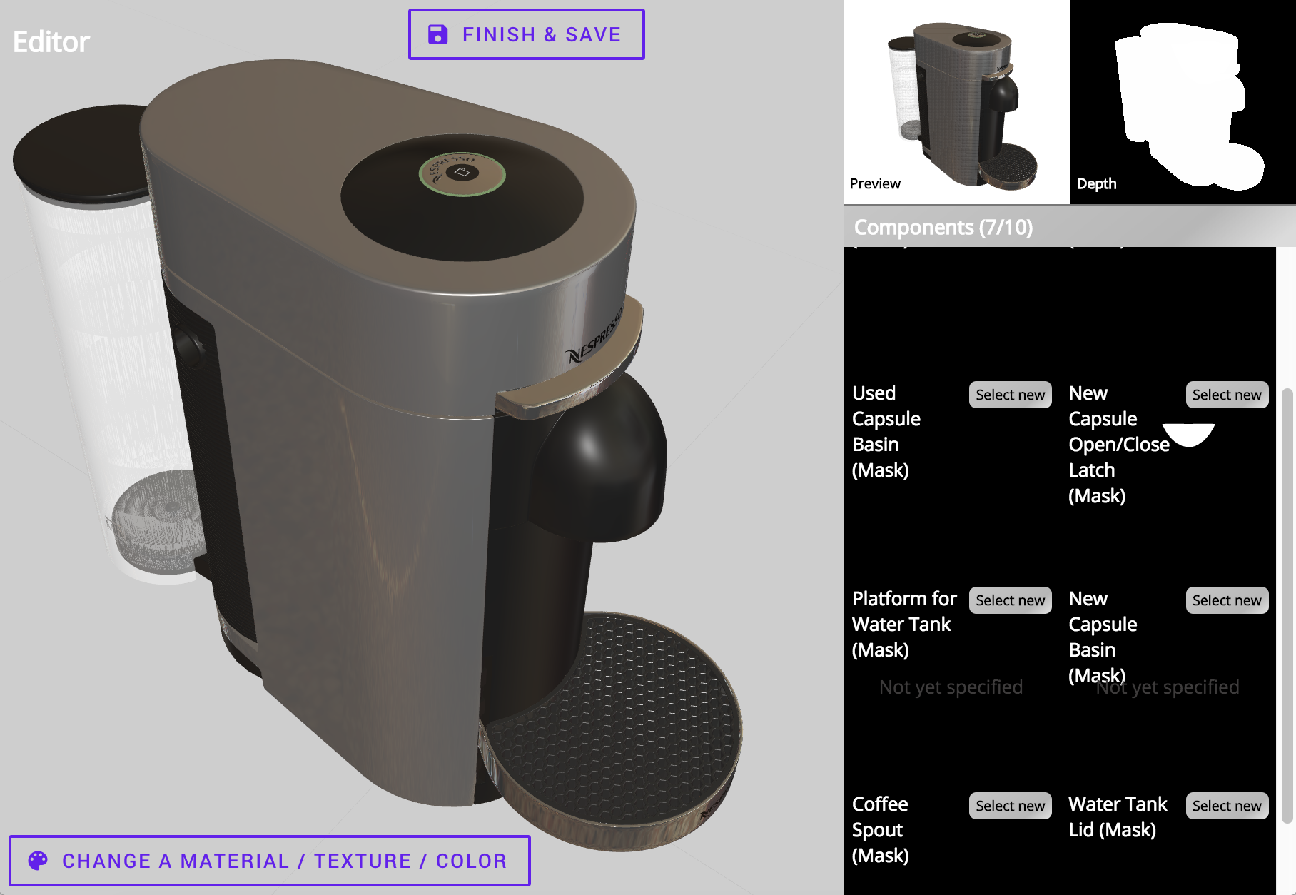 Generating Large, Synthetic, Annotated, & Photorealistic