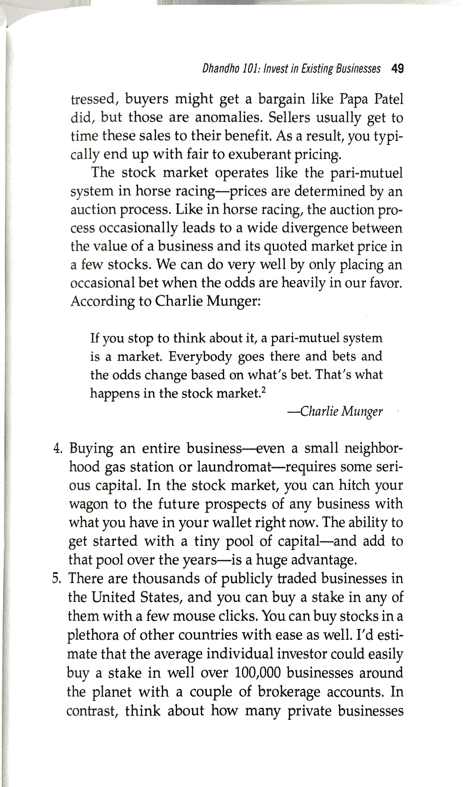 Notes] The Dhandho Investor: The Low-Risk Value Method to
