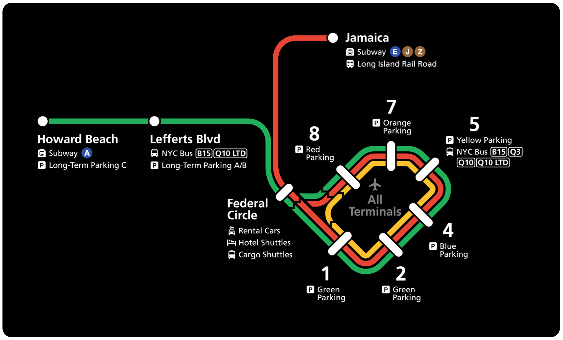 Nyc Subway Map Howard Beach.Misrepresenting The Truth To Make Traveling Easier Ux Collective