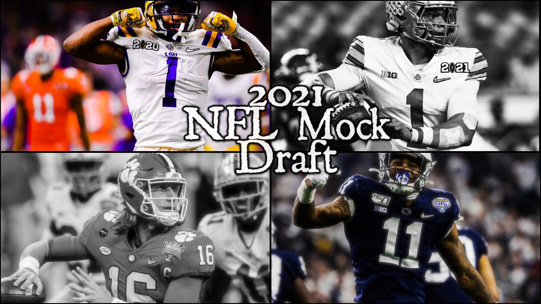 2021 NFL Mock Draft 4.0: The Top NFL Prospects Available for Round 1