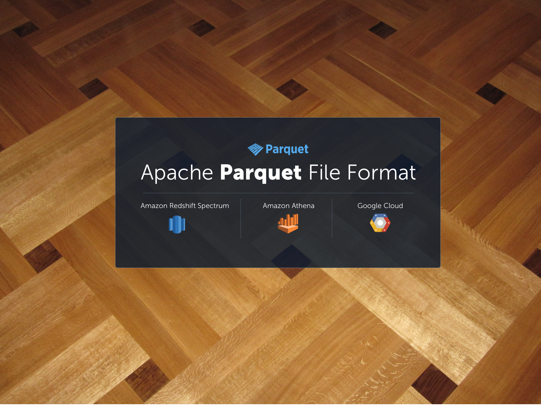 Apache Parquet: How to be a hero with the open-source