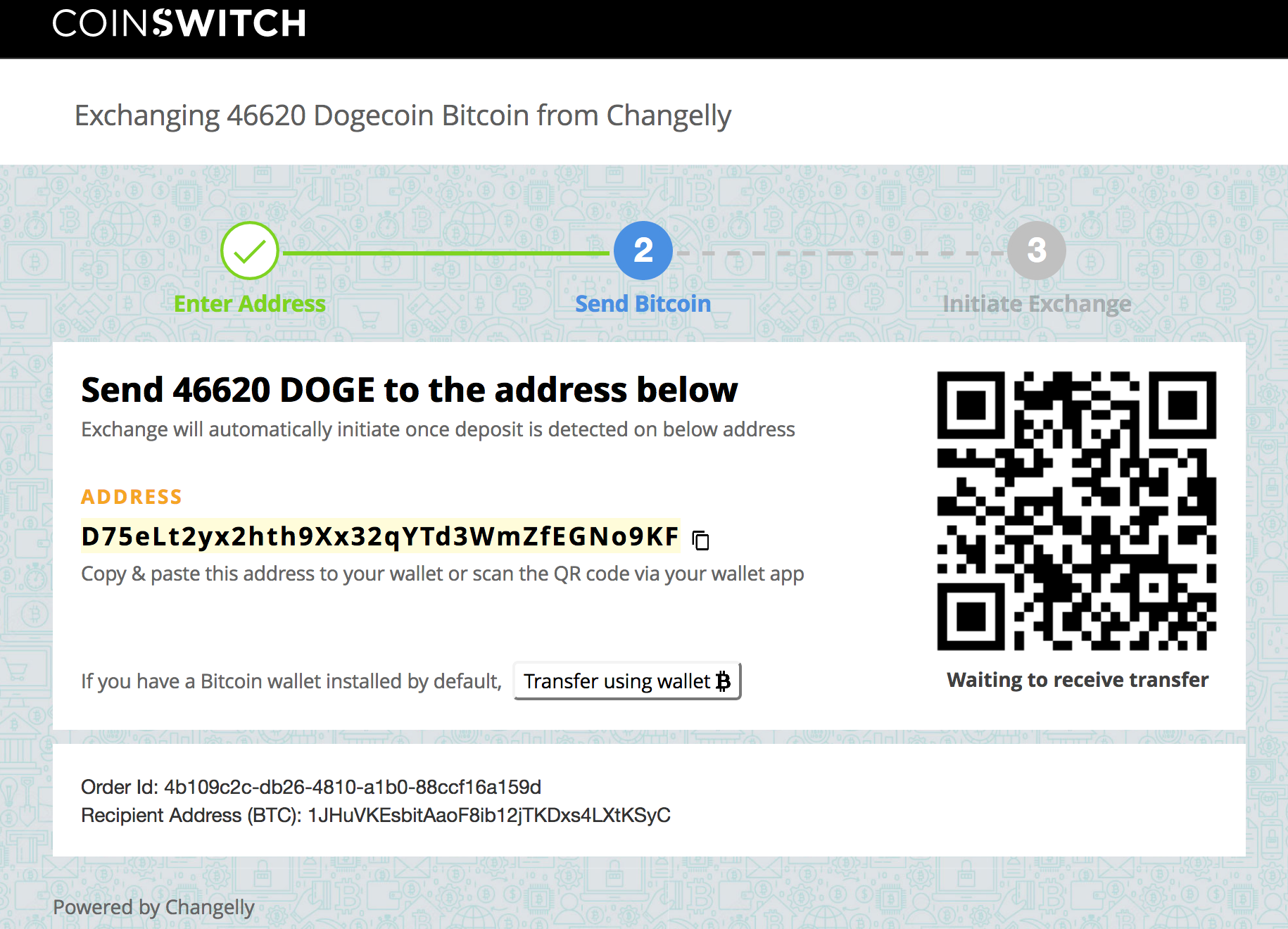 Convert dogecoins to bitcoins sports betting promo code