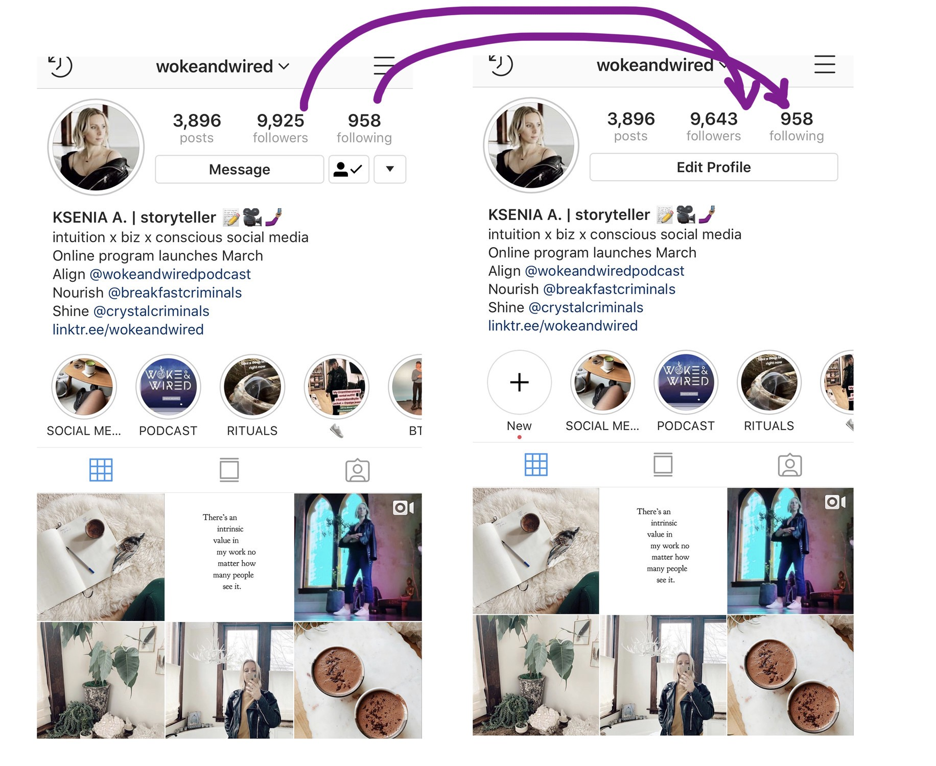 lost followers instagram app how much are instagram followers worth Lost Followers On Instagram Here S Why It S A Good Thing By Ksenia Avdulova Wokeandwired Medium