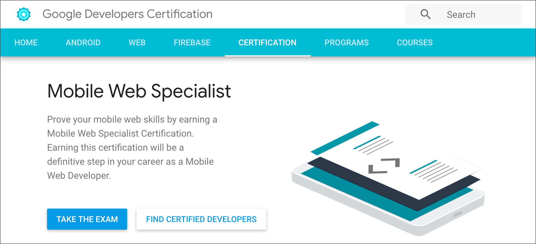 Why Google Certified Mobile Web Specialist Is A Good Starting Point By Daijiro Wachi Medium