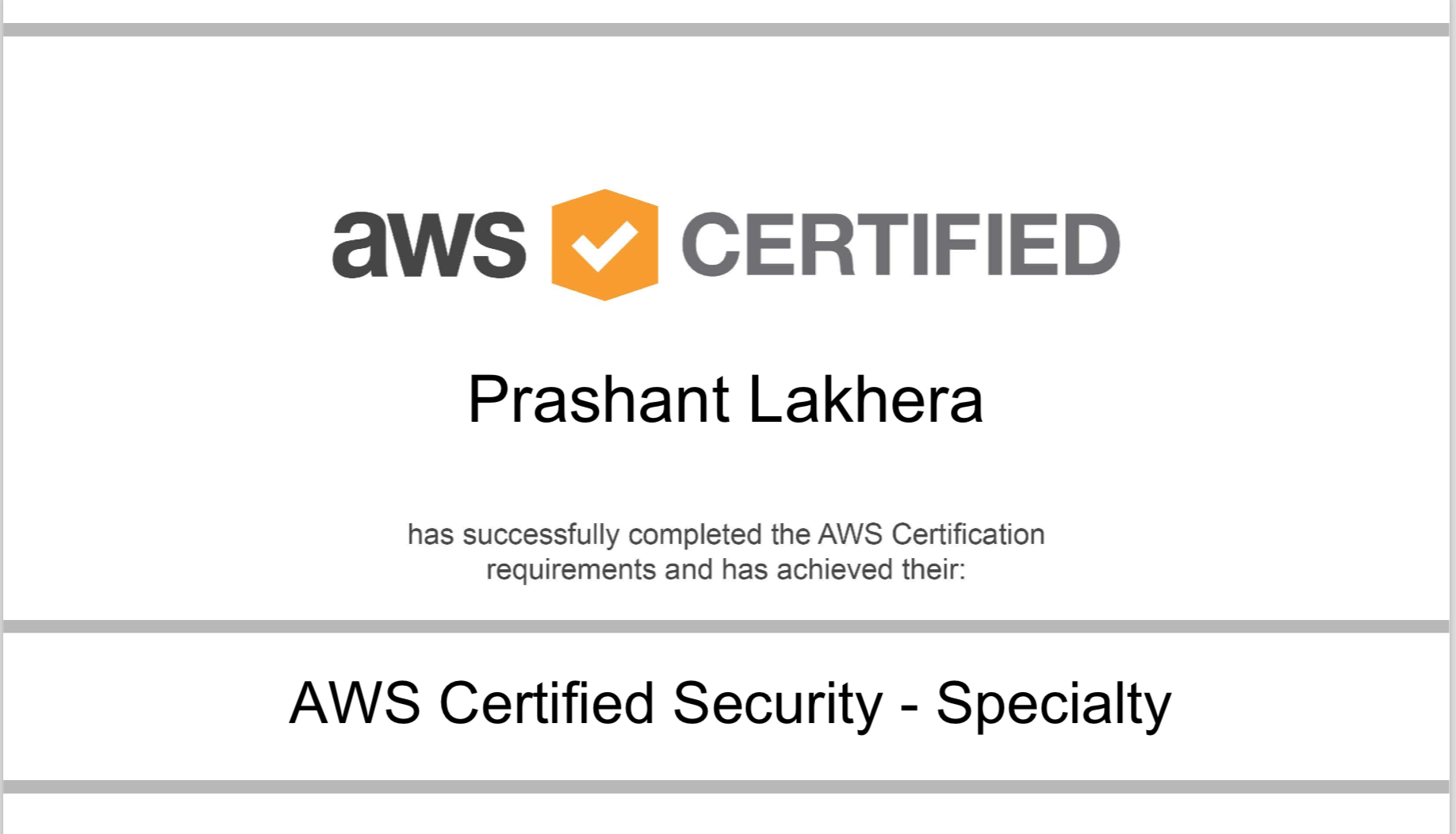 My Road To Aws Certified Security Specialty Certification