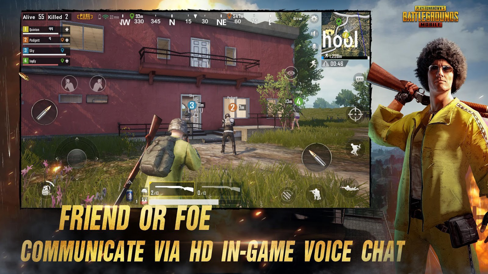 Hack PUBG mobile mod full Cho game android - App Moblie