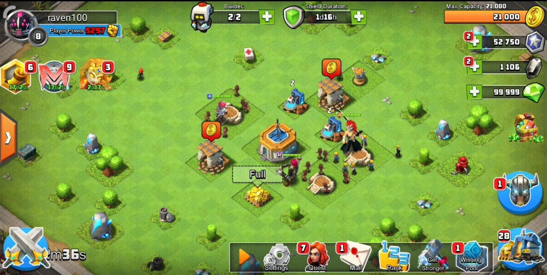 Clash of Zombies v 3 10 6 Apk + MOD (UNLOCK ALL) for Android