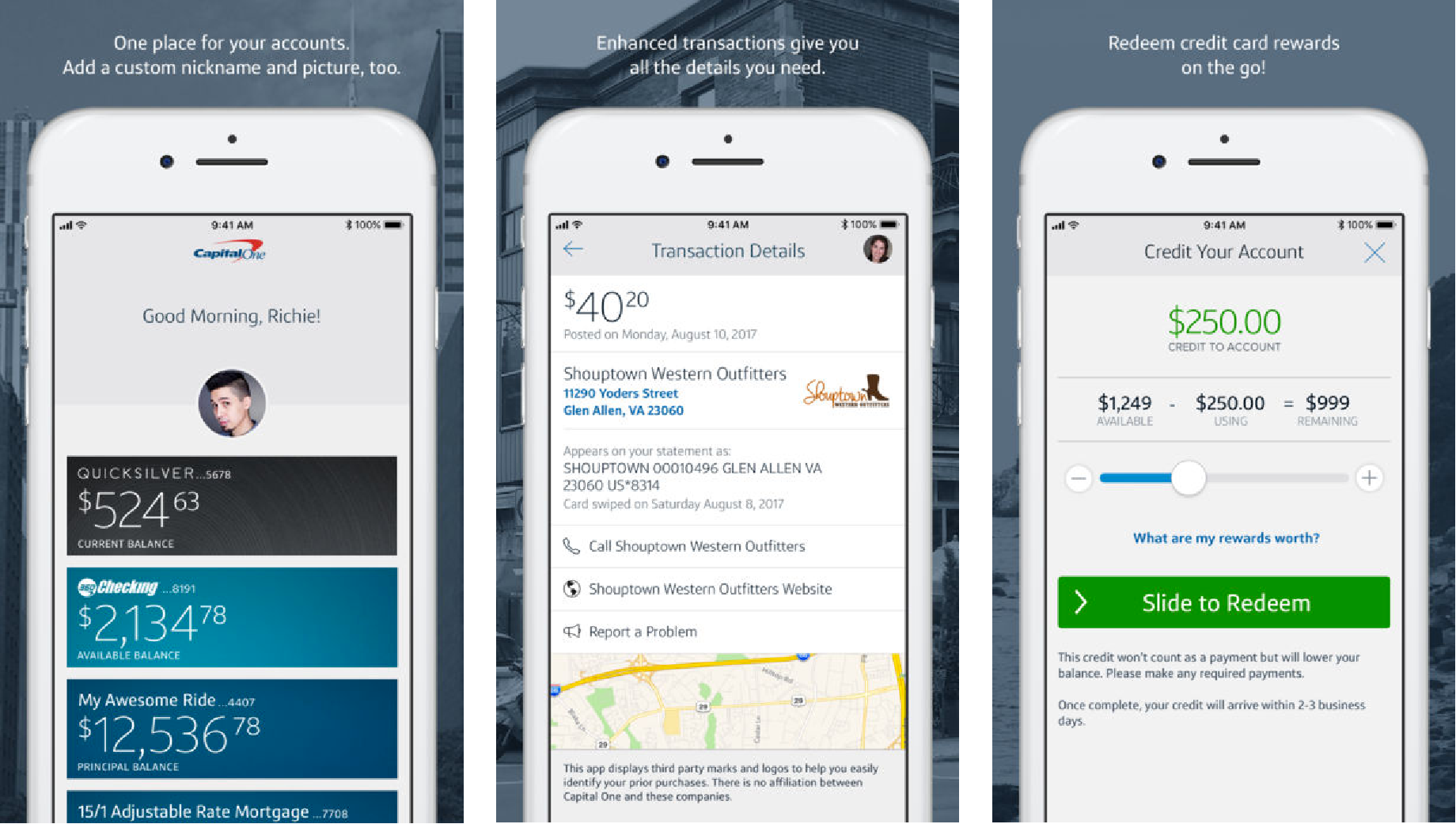 Usability Of The Capital One Mobile App By Jaron Barnes Medium