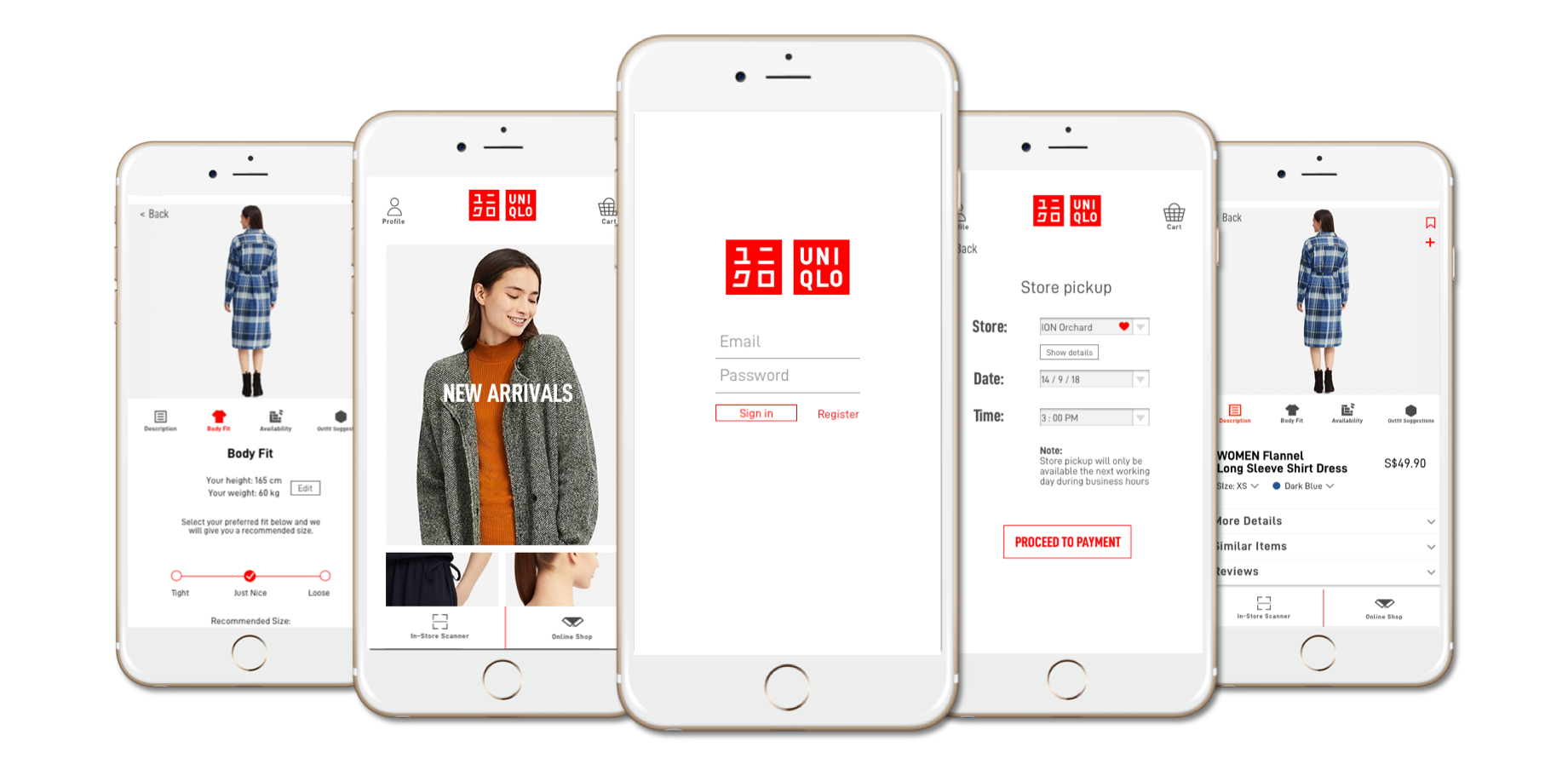 Giving The Uniqlo App A New Lease Of Life A Ux Case Study By Brenda Tang Ux Collective