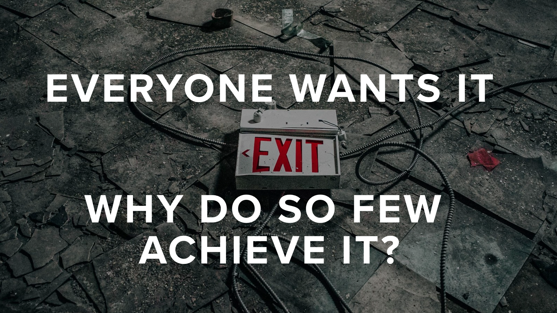 Less than 2% of startups succeed, according to Andreessen-Horowitz. Why is an exit so elusive?