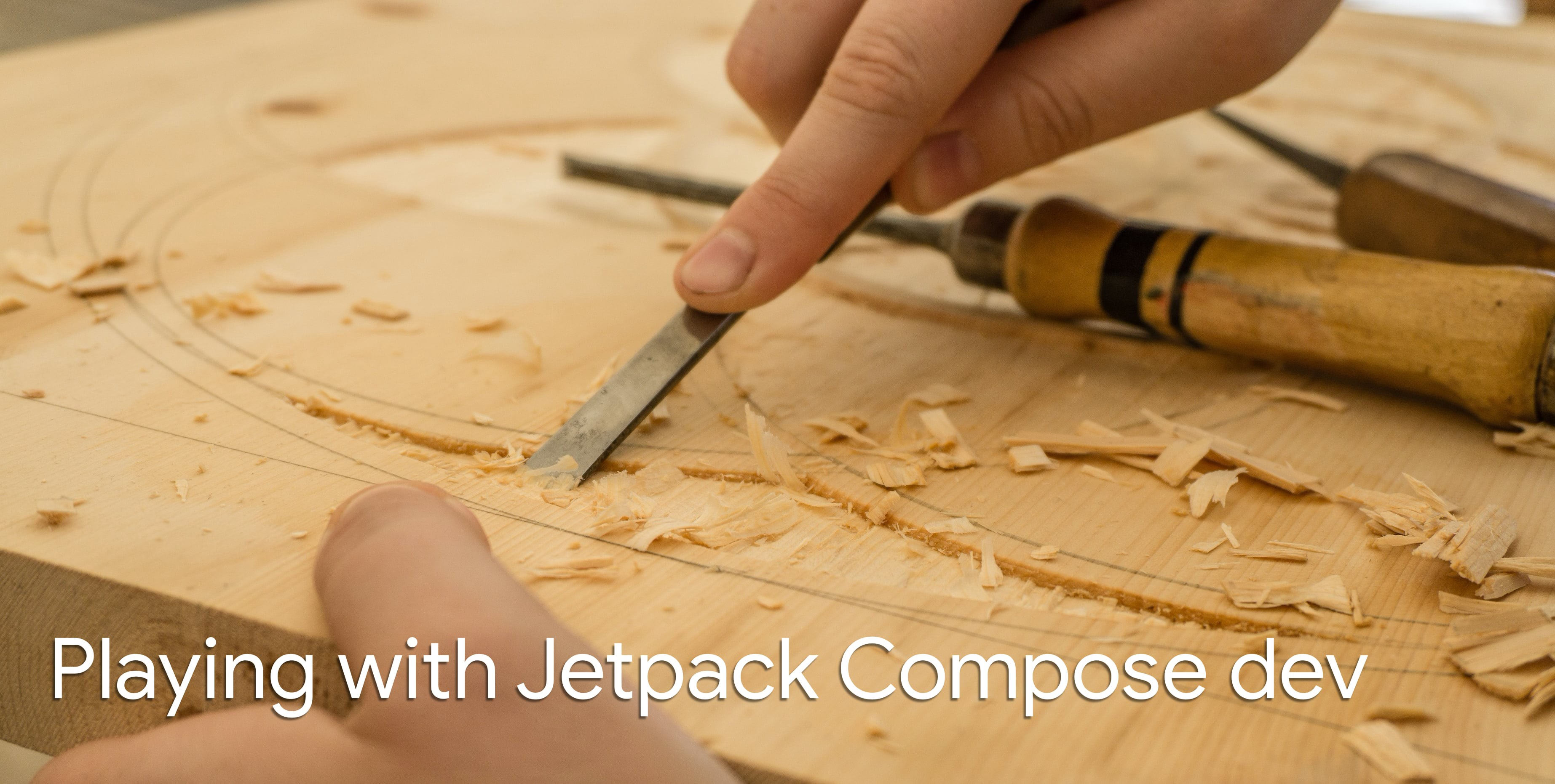 Playing with Jetpack Compose dev