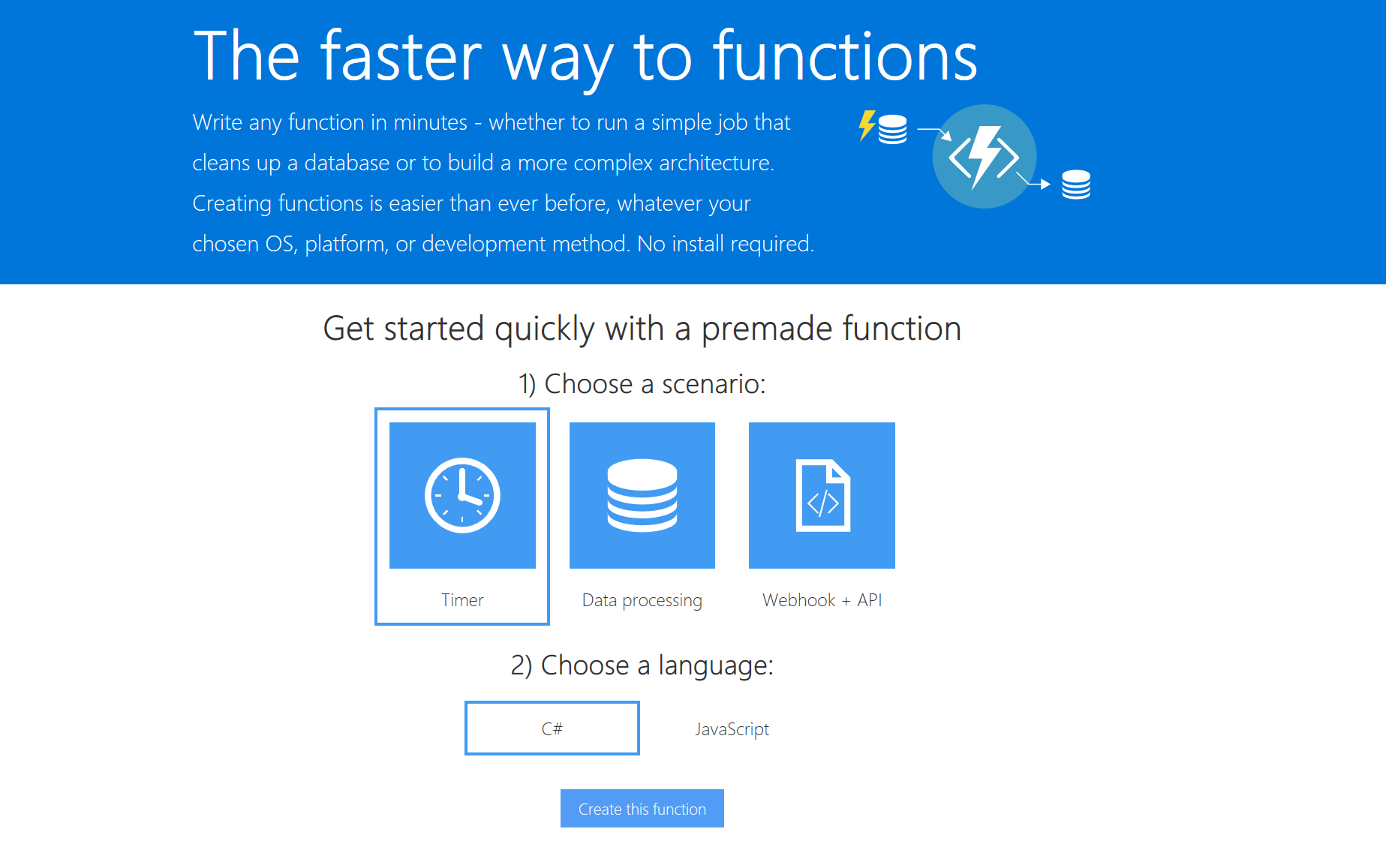 Monitoring your website for free with Azure Functions and