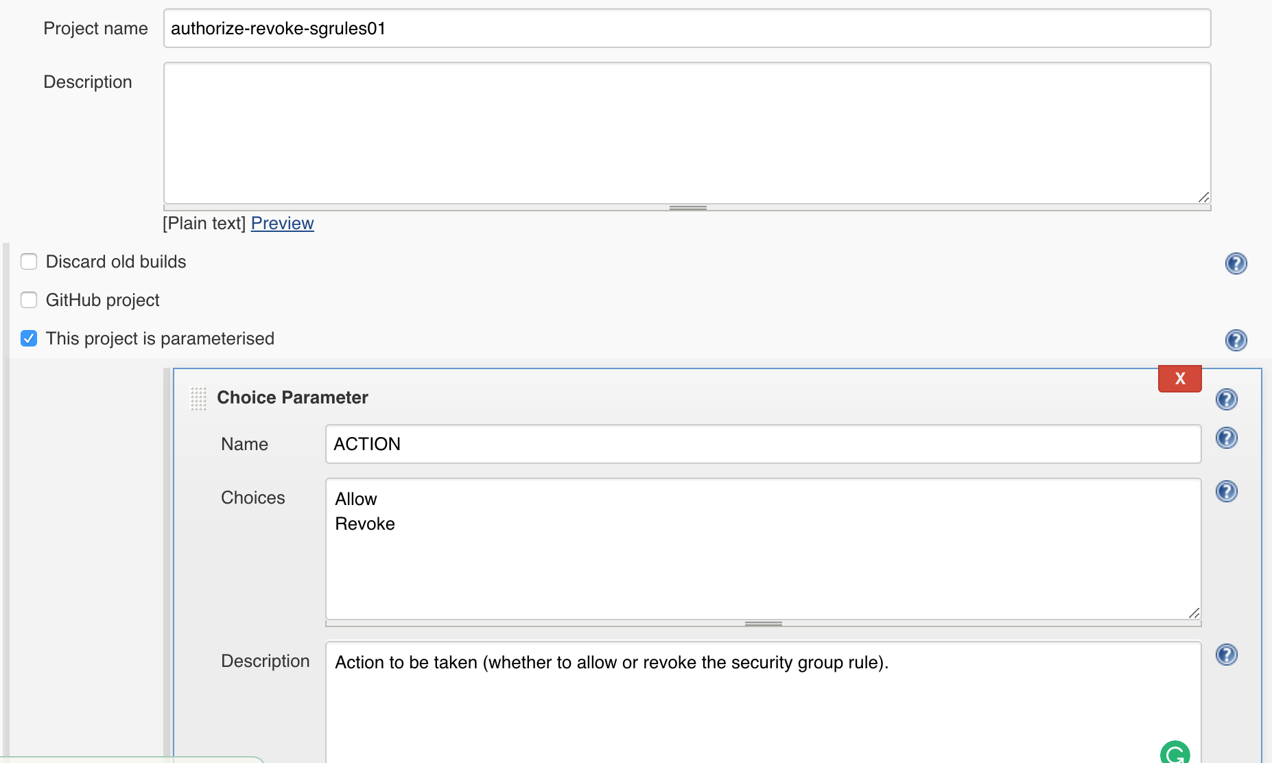 Automate Authorise or Revoke Security Group Rules through