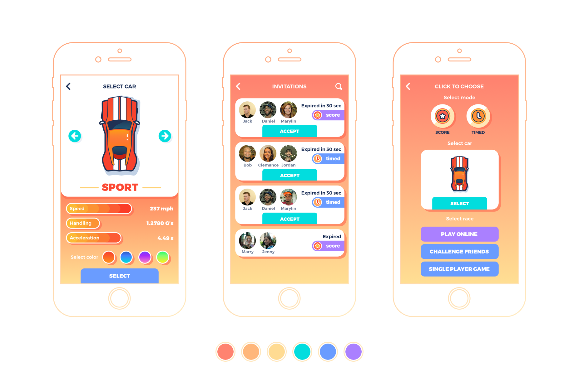 Case Study: Real Multiplayer Racing  UX and UI Design for a