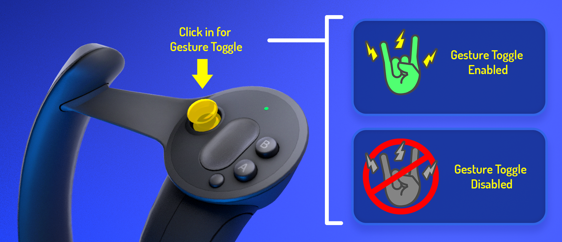 VRChat Valve Index Support and the Gesture Toggle System
