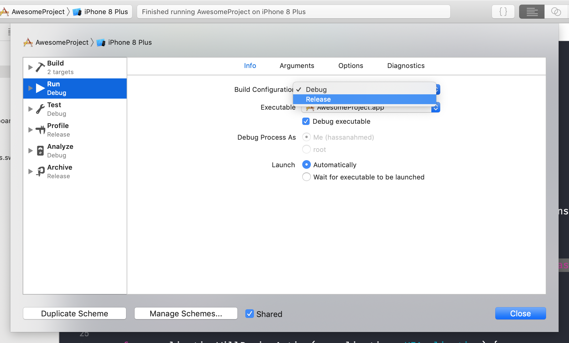 Defining Your Own Settings in Xcode Build Settings - Hassan
