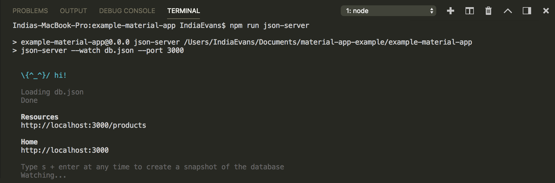 Building a data-table & retrieving data through HTTP with