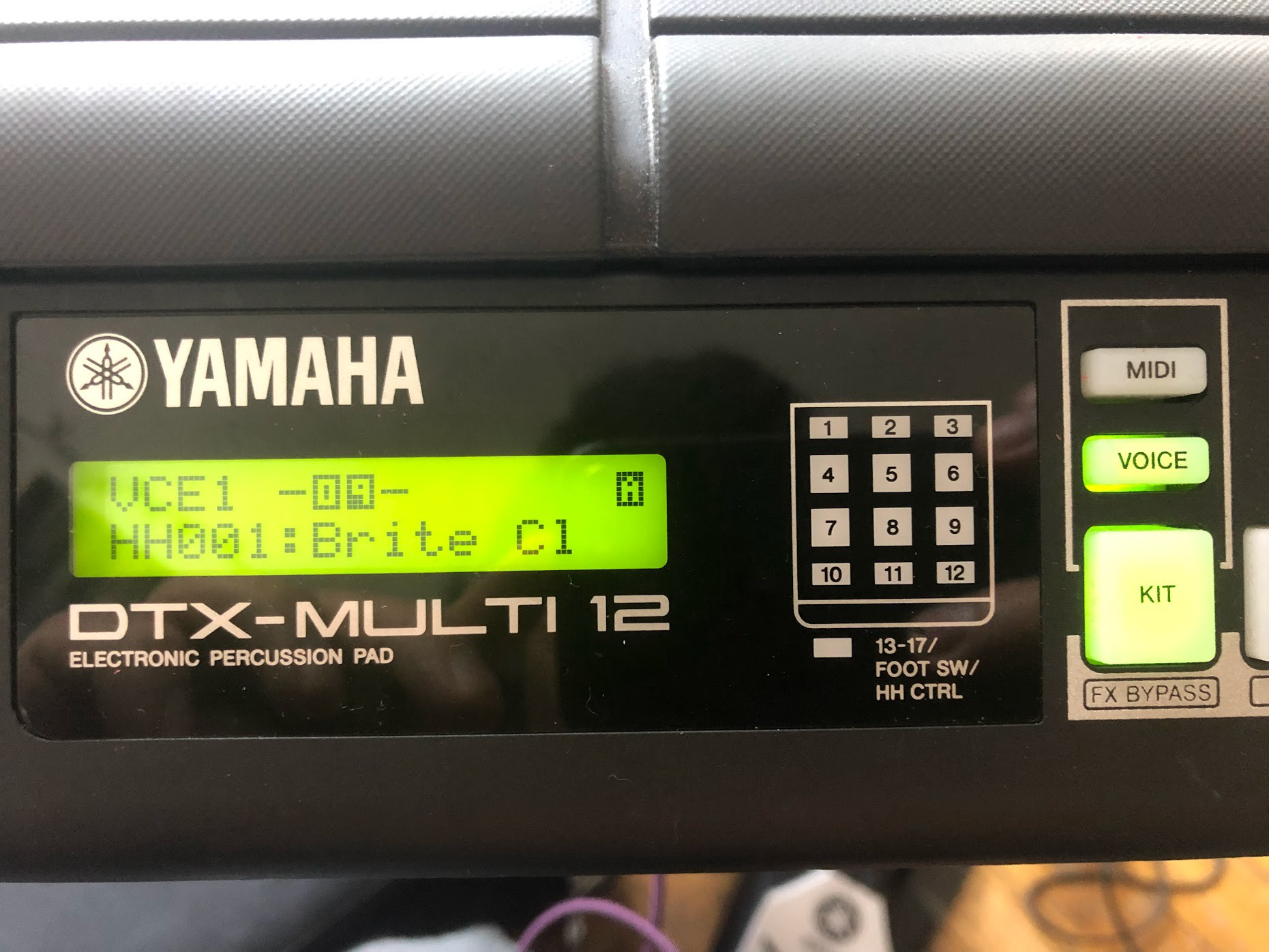 How To Configure The Hh65 Hi Hat Pedal On Yamaha Dtx Multi 12