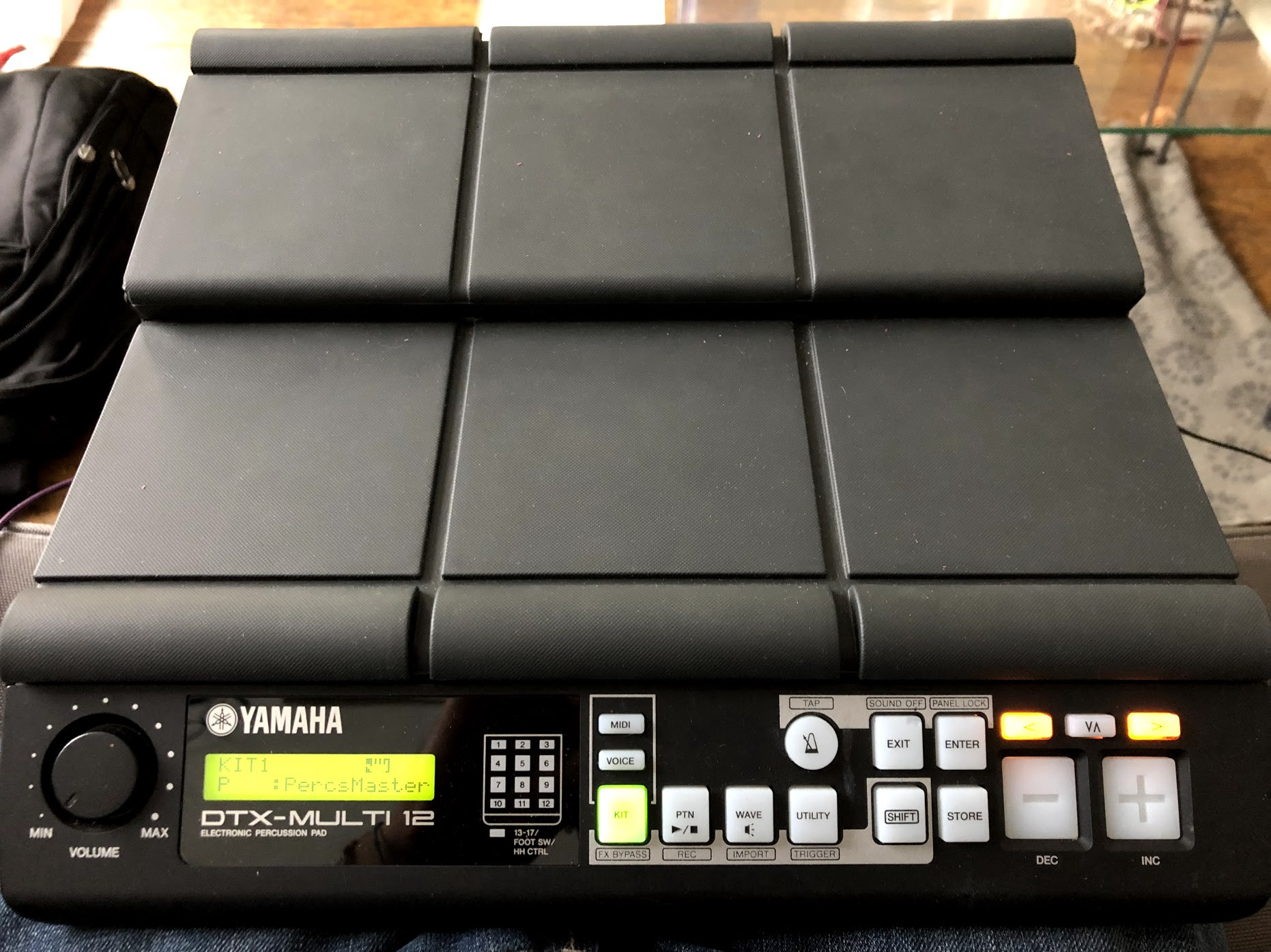 First Steps With Yamahas Dtx Multi 12 Drum Pads Adrien