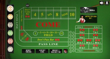 3.00 betting craps betting closed todays matches at the us open