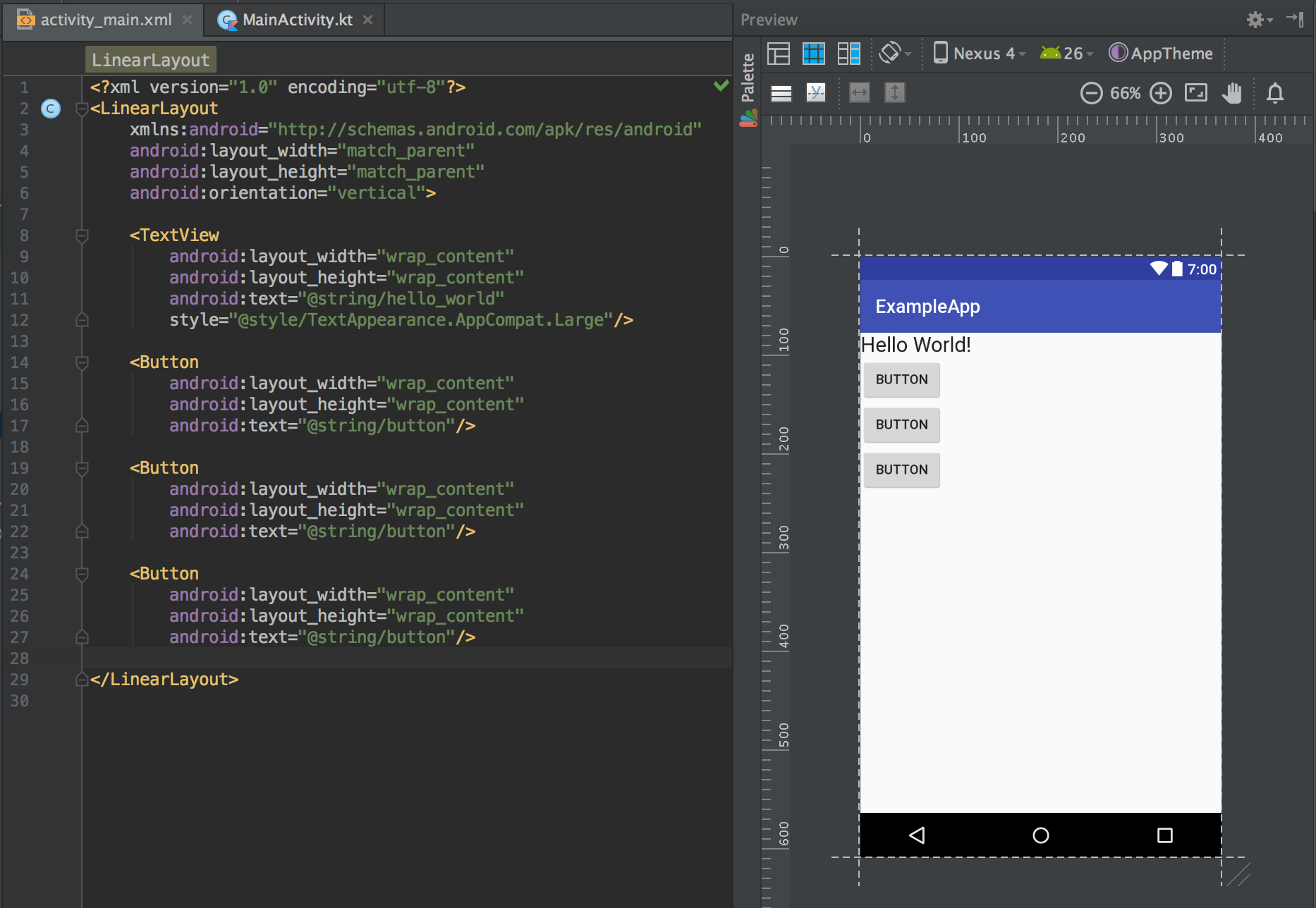 Android Developer Beginner  Step #1 — Interacting with the UI