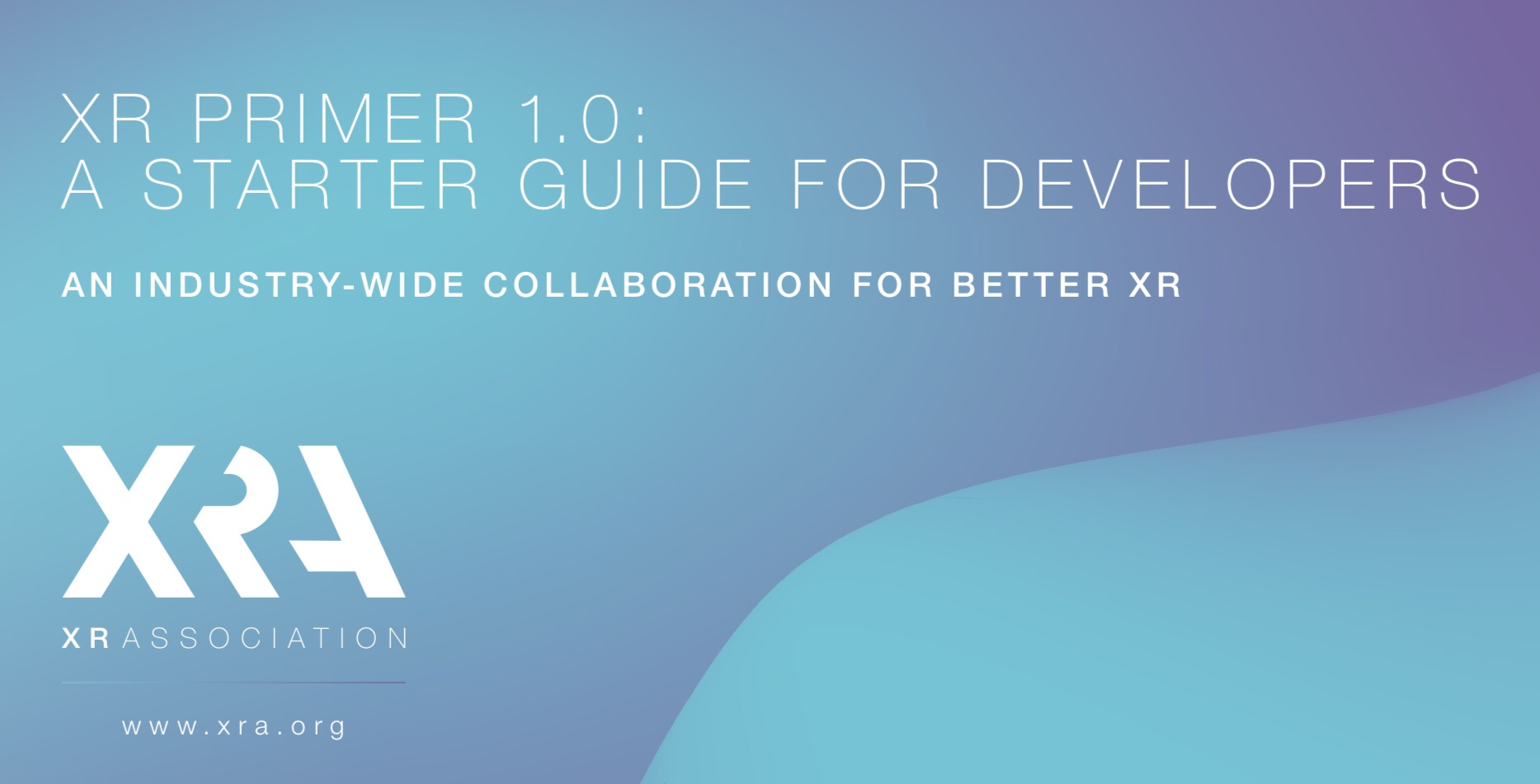 XR Association (XRA) also released an impressive inaugural XR standards guide