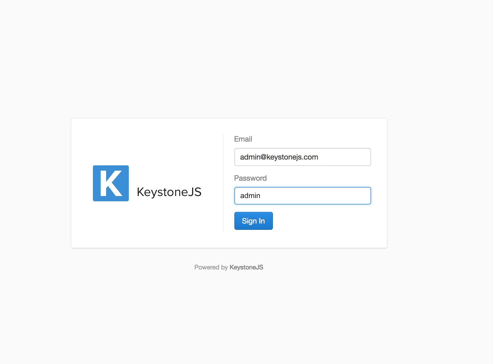 Building A Node CMS With KeystoneJS, Mongo DB, React and