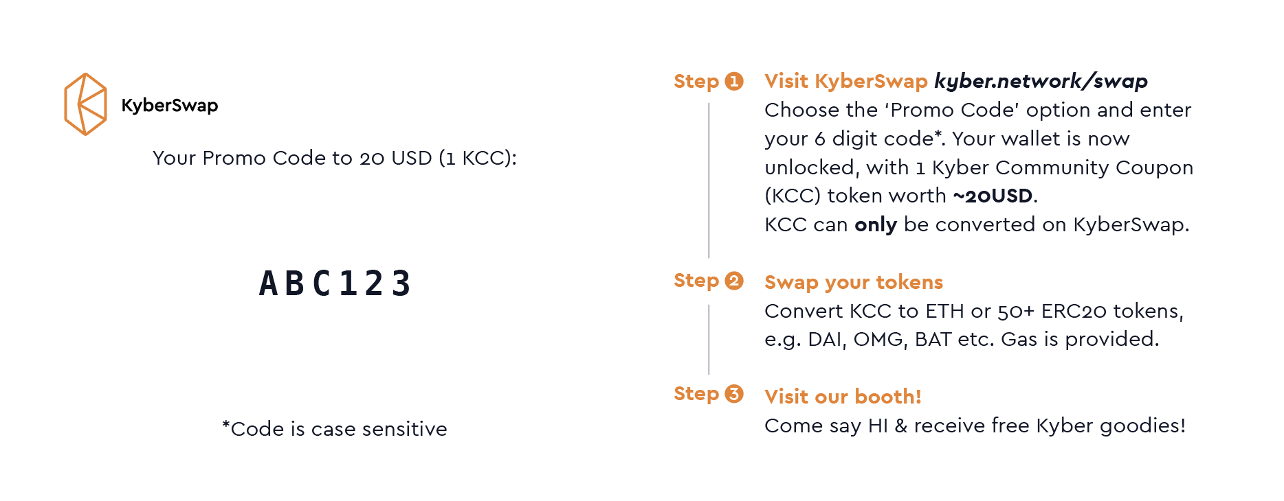KCC has been changed to PT (Promo Token) - Kyber Network
