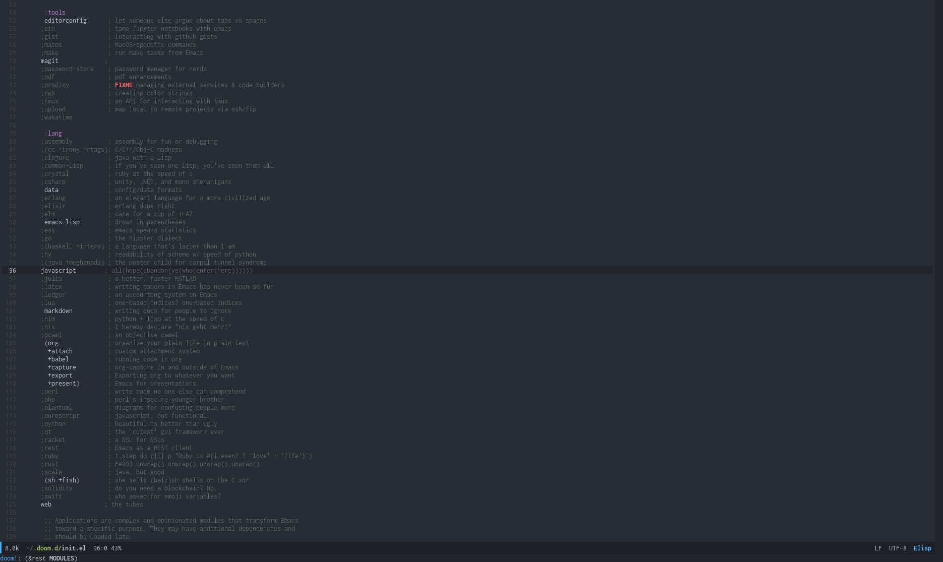 Getting started with Doom Emacs — A great transition from