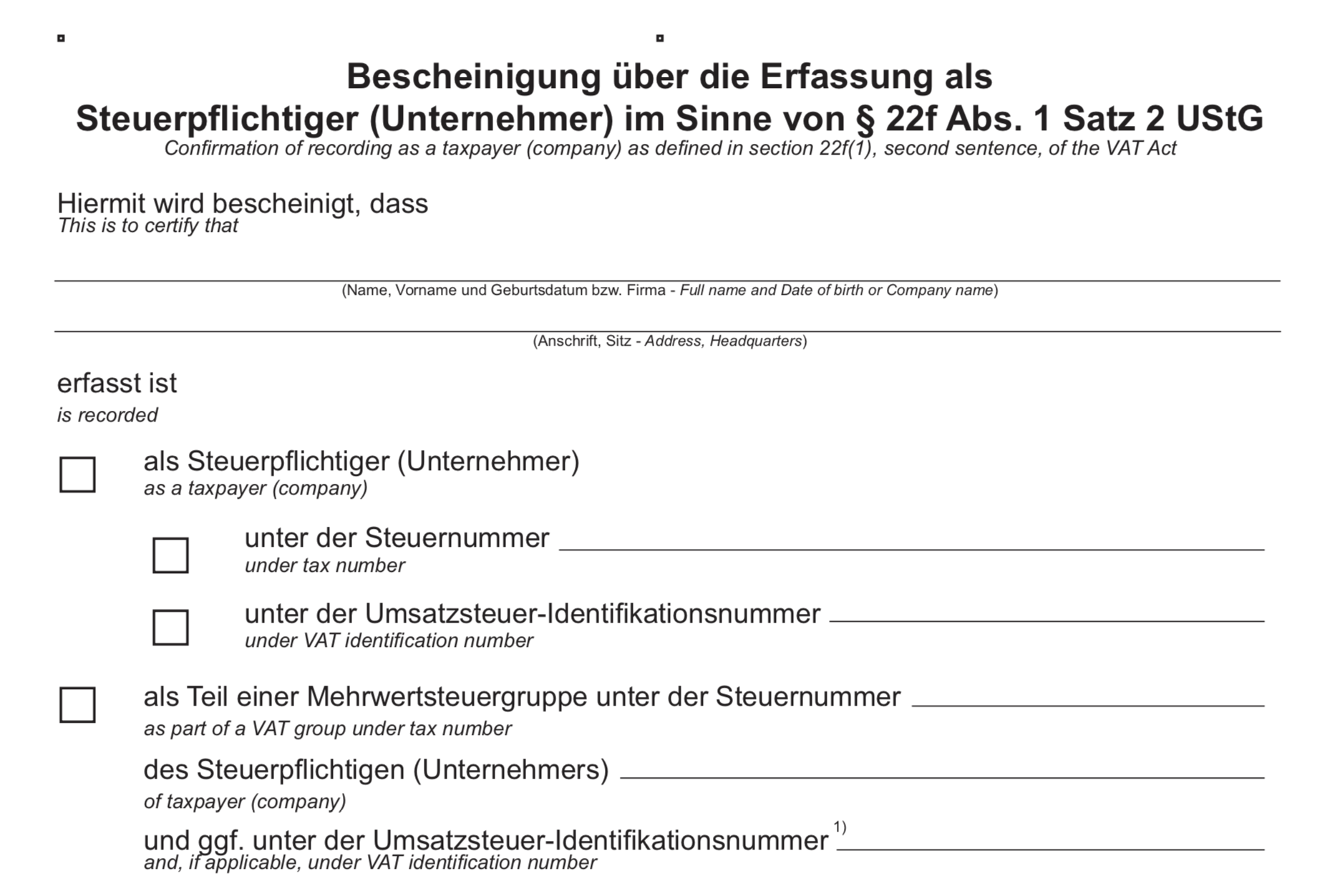 UPDATE: New German VAT law: How to avoid Amazon/Ebay account