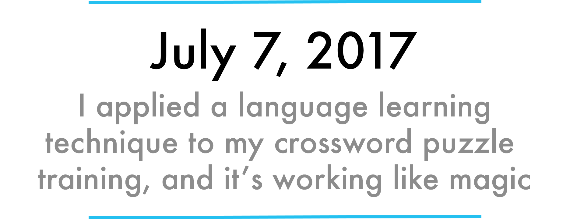 How I mastered the Saturday NYT crossword puzzle in 31 days
